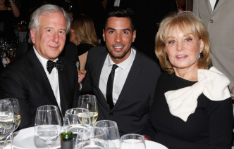 Matt Winkler, President & Founder of Bloomberg News, Javier Gomez & Barbara Walters - The Women's Media Awards in New York City 2012