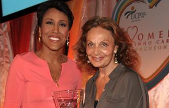 Robin Roberts Diane von Furstenberg Women Who Care Luncheon - Robin Roberts & Diane von Furstenberg 2012