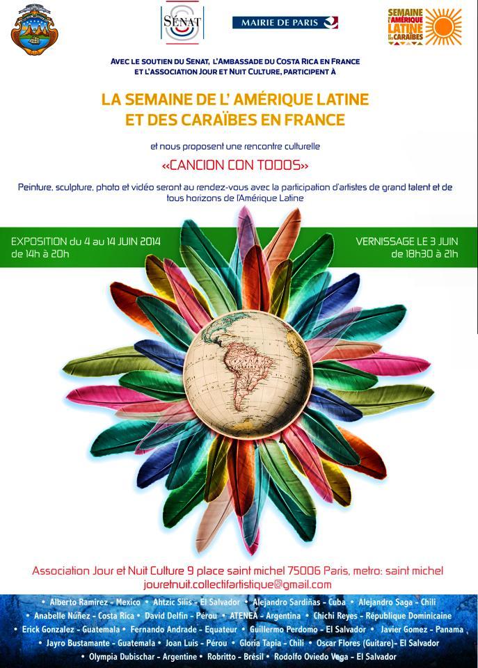 La Semanie de L' Amerique Latine Et Des Caraibes en France Javier Gomez Panama