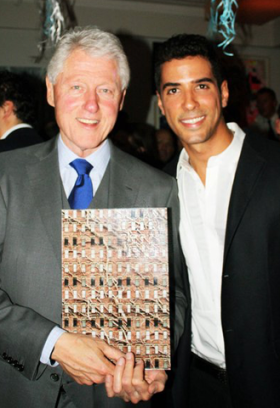 President Clinton and Javier Lopez Photographer