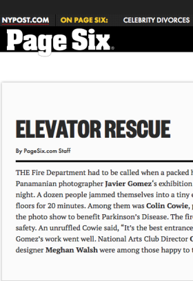 Elevator Rescue Javier Gomez New York Photographer